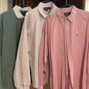 Polo Ralph Lauren XXL set of shirts(3)